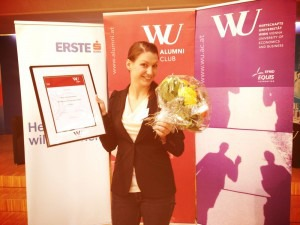 Dachgold schafft 3. Platz beim WU-Alumni Entrepreneur of the Year 2012
